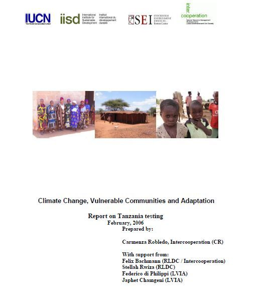 Climate Change, Vulnerable Communities and Adaptation