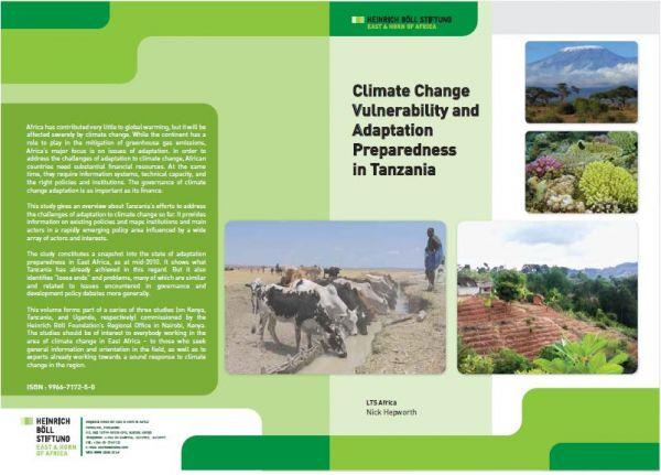 Climate change vulnerability and adaptation preparedness in Tanzania