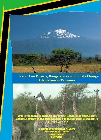 Report on Forests, Rangelands and Climate Change Adaptation in Tanzania