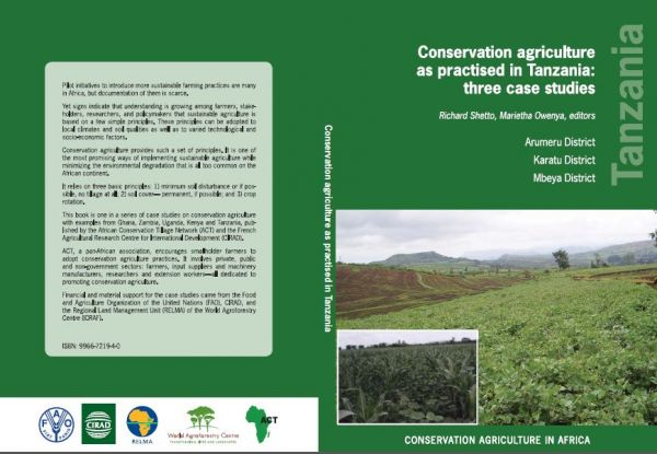 Conservation Agriculture as Practiced in Tanzania