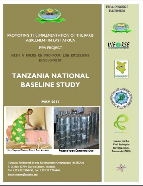 PROMOTING THE IMPLEMENTATION OF THE PARIS AGREEMENT IN EAST AFRICA -PIPA PROJECT-